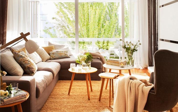 Прекрасная арендная квартира в Барселоне | Пуфик - блог о дизайне интерьера