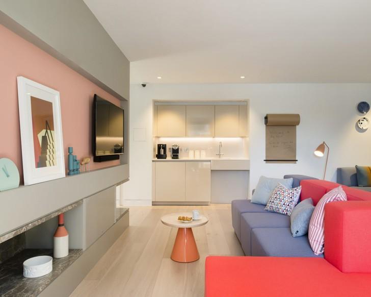 Просторные апартаменты в современном стиле в Париже | Пуфик - блог о дизайне интерьера