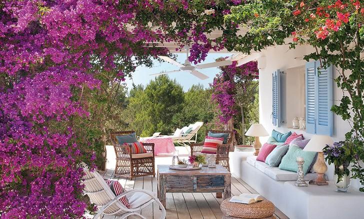 Летнее настроение из Испании | Пуфик - блог о дизайне интерьера