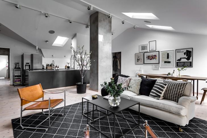Лофт для Карлсона | Пуфик - блог о дизайне интерьера