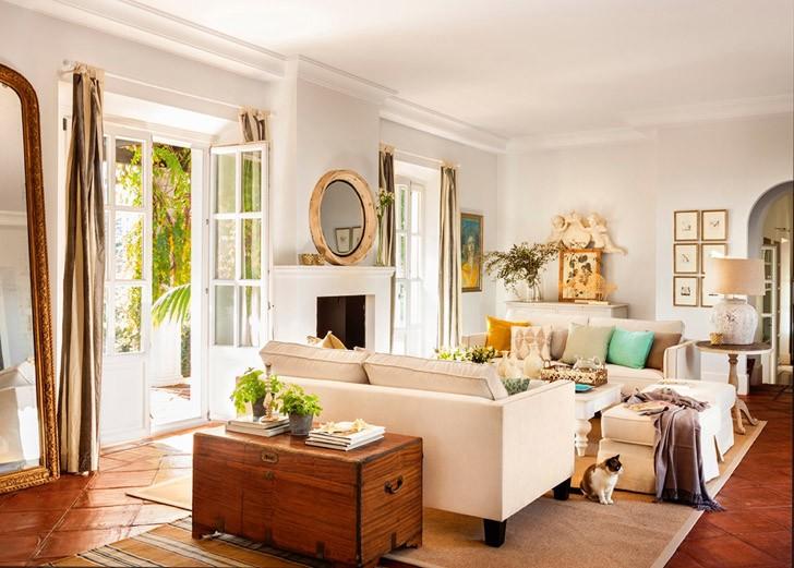 Дом, где всегда тепло | Пуфик - блог о дизайне интерьера
