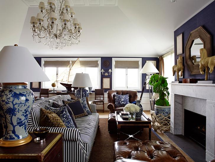Гостевой дом в морском стиле | Пуфик - блог о дизайне интерьера