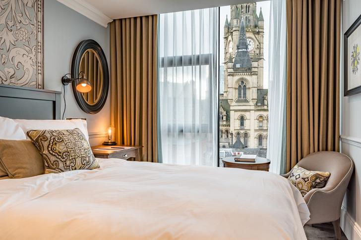 Отель King Street Townhouse в самом сердце Манчестера