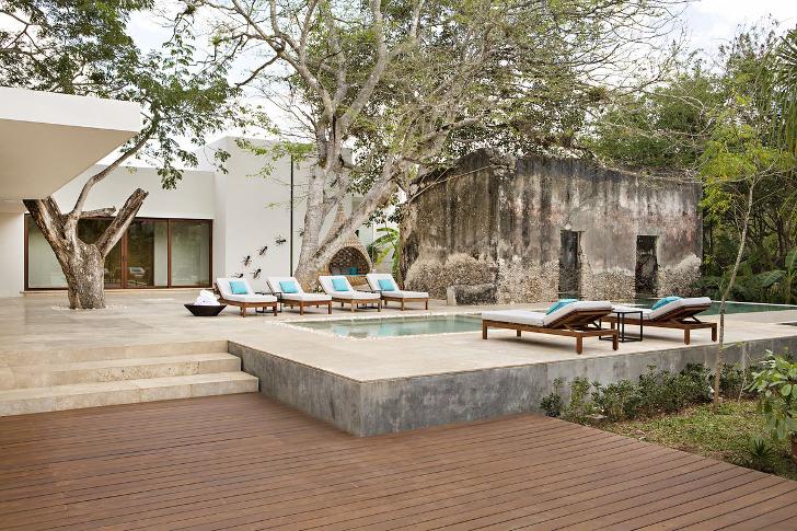 Райский отель в Мексике