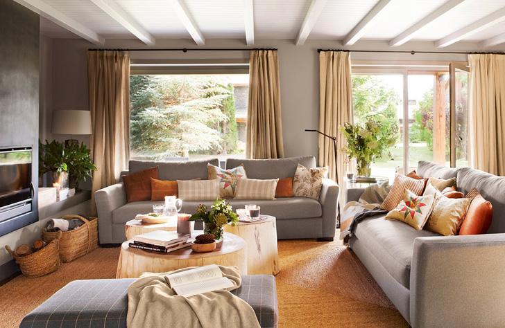 Невероятно уютный дом в горах   Пуфик - блог о дизайне интерьера