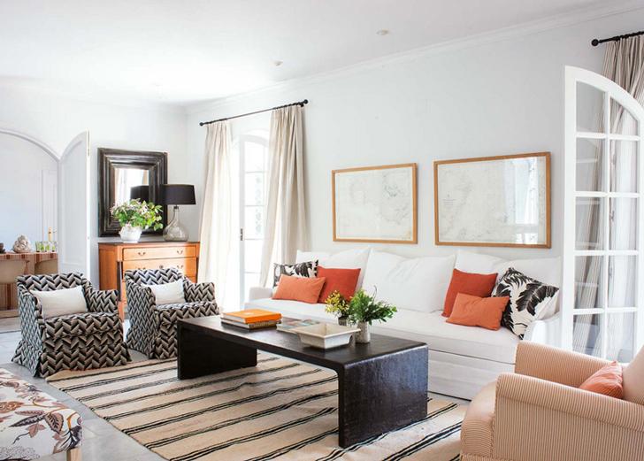 Прекрасный интерьер дома в Испании | Пуфик - блог о дизайне интерьера
