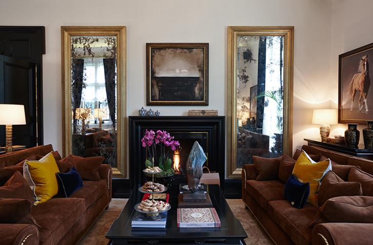 Роскошный особняк в Англии   Пуфик - блог о дизайне интерьера