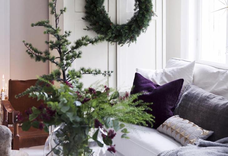 Рождество с налетом старины в Норвегии | Пуфик - блог о дизайне интерьера
