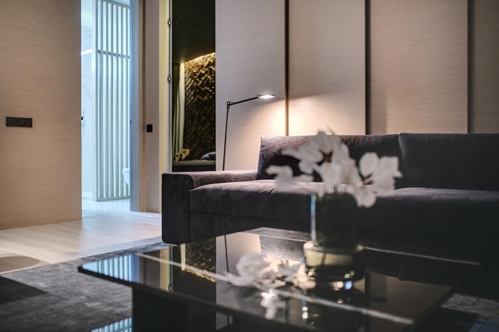 Квартира для современной семьи в Киеве (63 кв. м)   Пуфик - блог о дизайне интерьера