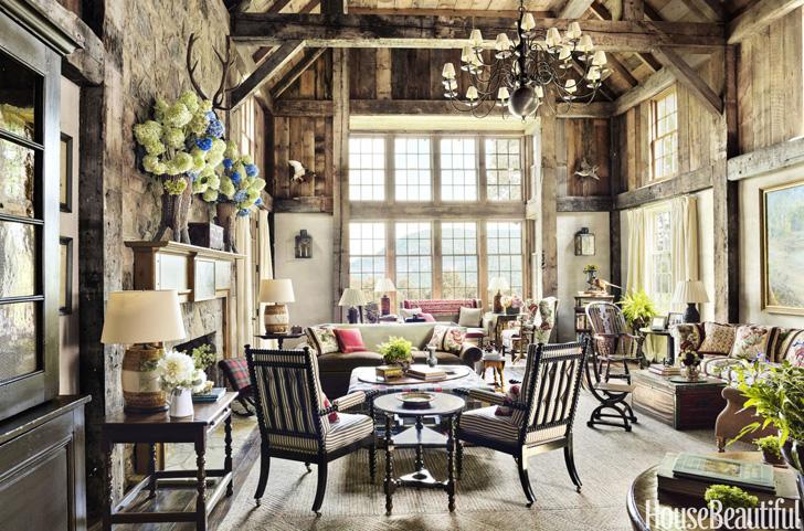 Дом в горах в Северной Каролине | Пуфик - блог о дизайне интерьера