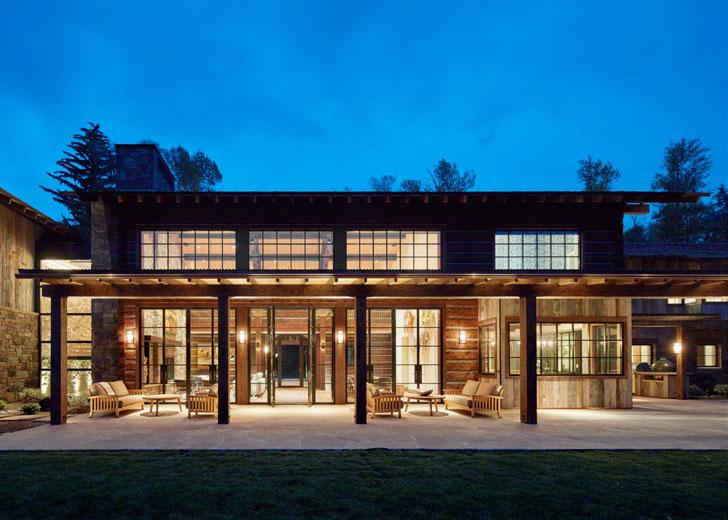 〚 Резиденция посреди природы, которая впечатляет с первой фотографии 〛 ◾ Фото ◾Идеи◾ Дизайн