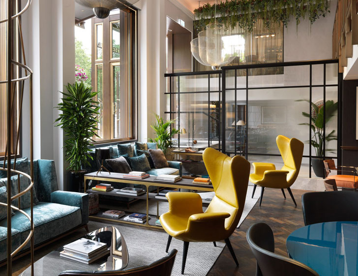 Стильный и роскошный отель The Athenaeum в Лондоне