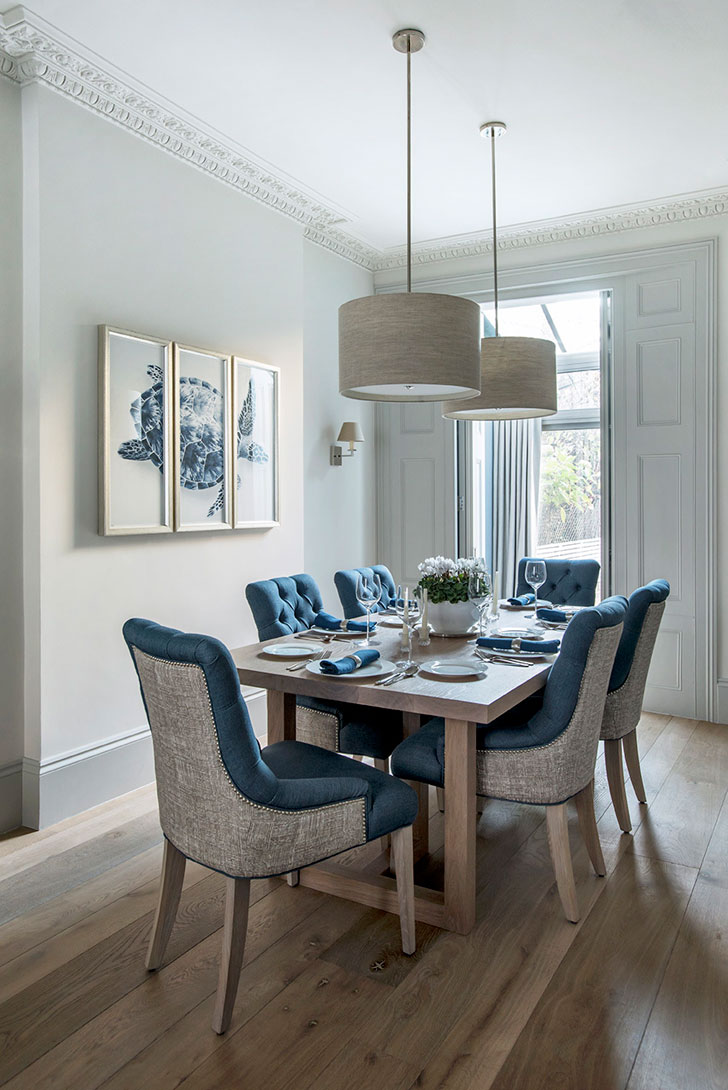 Classic english townhouse in london pufik beautiful for Dining room ideas for townhouse