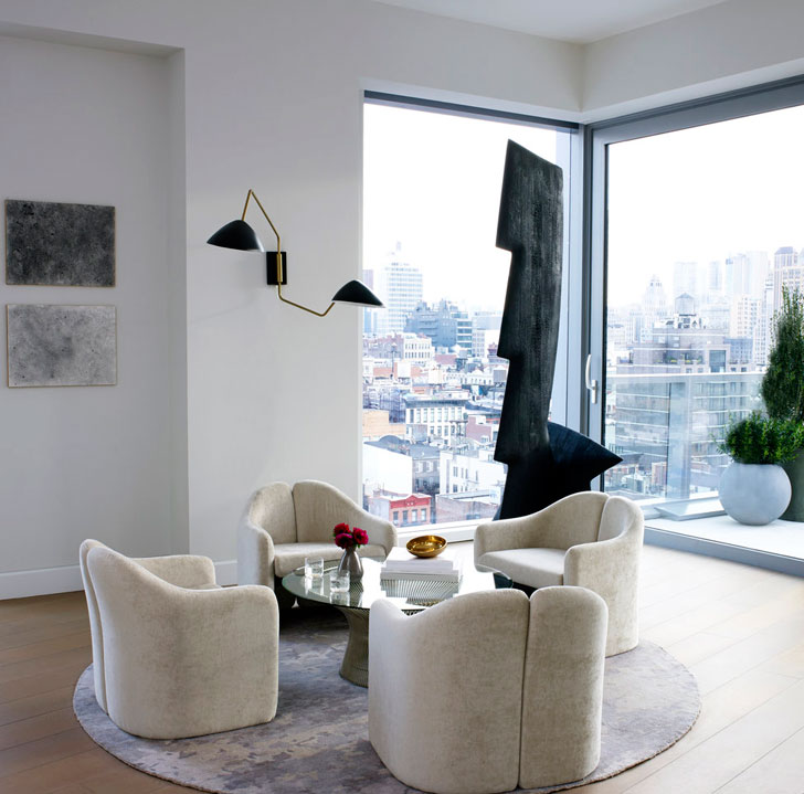 Soho Apartments: Modern Apartment With Impressive Terrace In Soho 〛 Photos