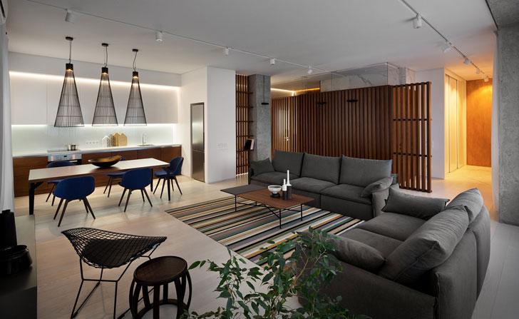 Минималистичная квартира в Днепре от Nott Design