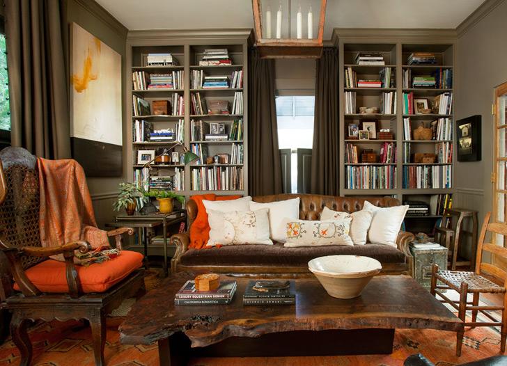 Интерьер с налетом старины: дом дизайнера в Атланте