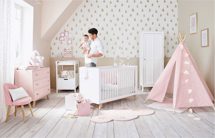 Pastel kids rooms by maisons du monde soft and stylish pufik