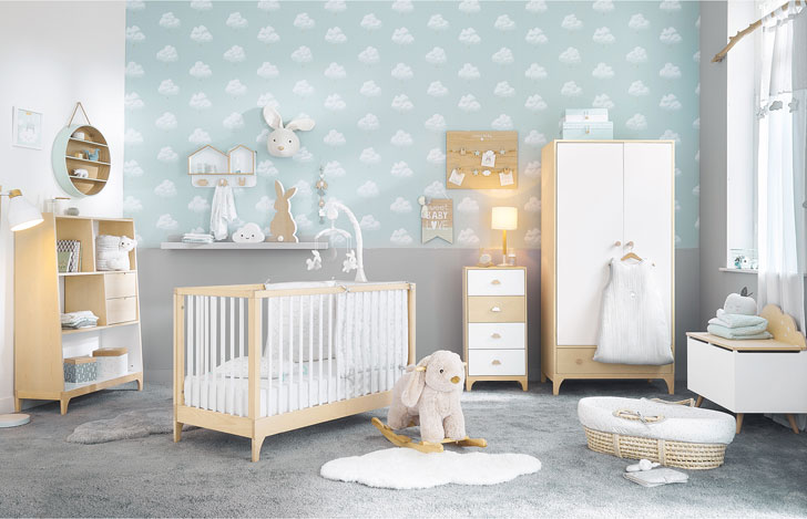 Pastel kids rooms by maisons du monde soft and stylish〛 ◾ Фото