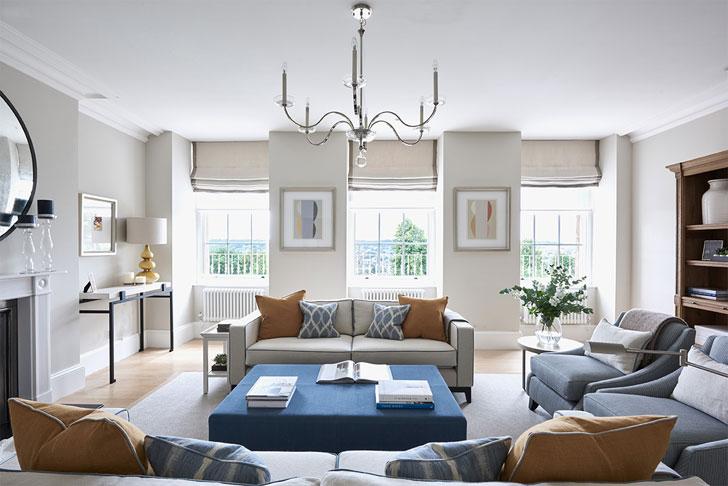 Светлые современные апартаменты в Англии