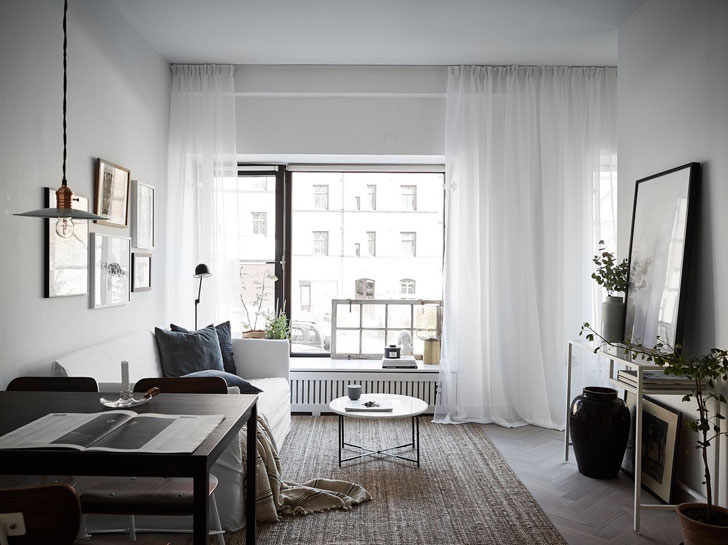 It Has To Be Noted That The Designers Arranged A Full Fledged One Bedroom Apartment Within Such Small Area Bravo