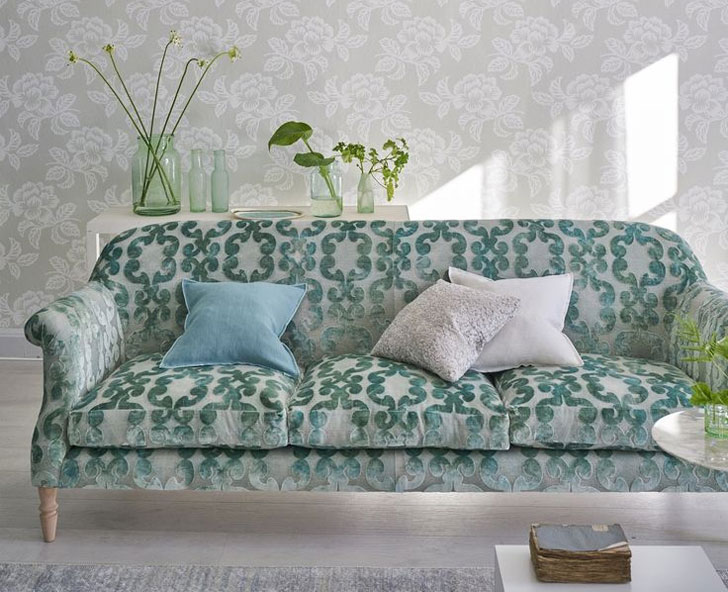 Stunning wallpapers and textiles by Designers Guild: Spring-Summer ...