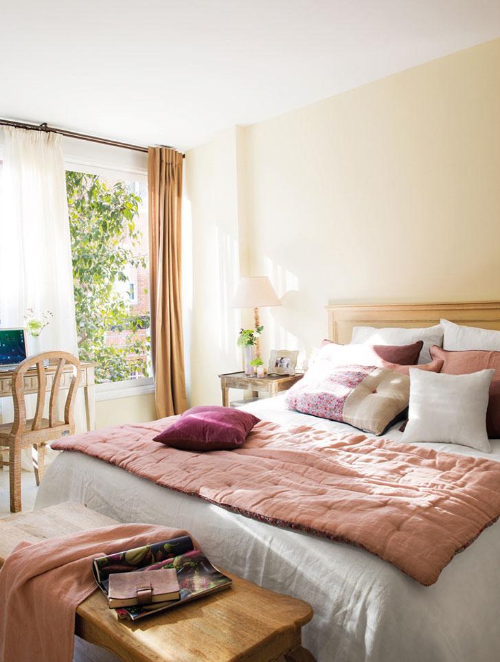 Нежный интерьер квартиры с террасой в Испании   girly small home in spain pufikhomes 9
