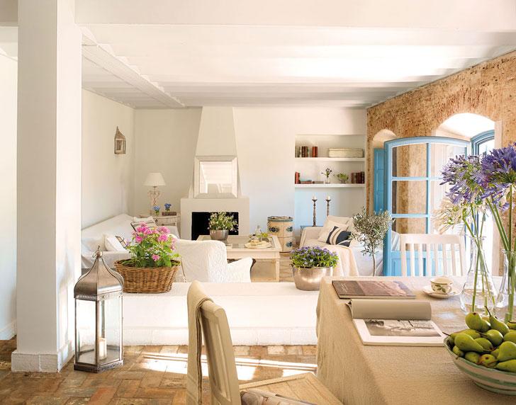 Дом в испанской глубинке, который очаровывает с первой фотографии   milyi dom v ispanskoi glubinke pufikhomes 2