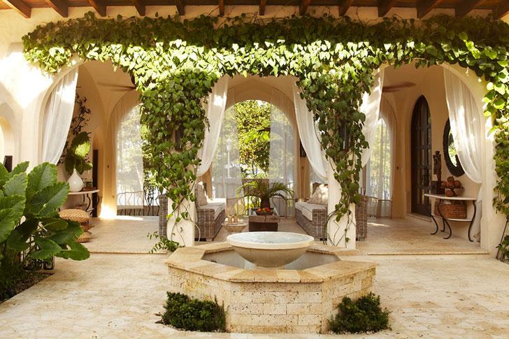 Потрясающий дом в средиземноморском стиле