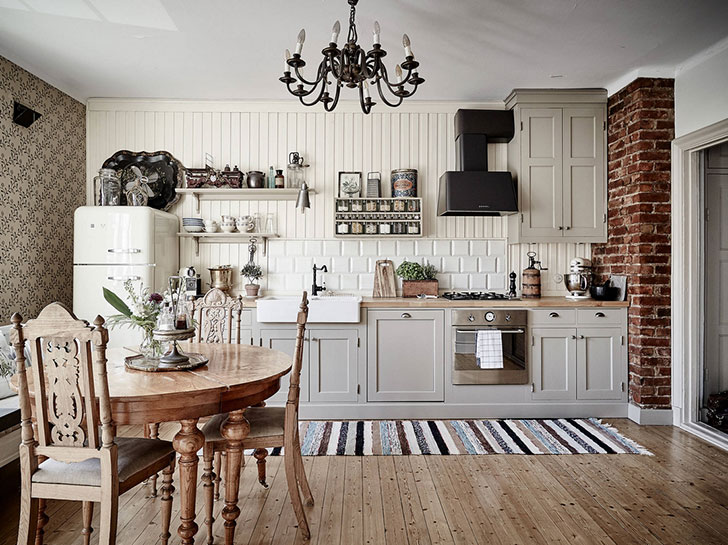 Scandinavian vintage interior | PUFIK. Beautiful Interiors. Online ...