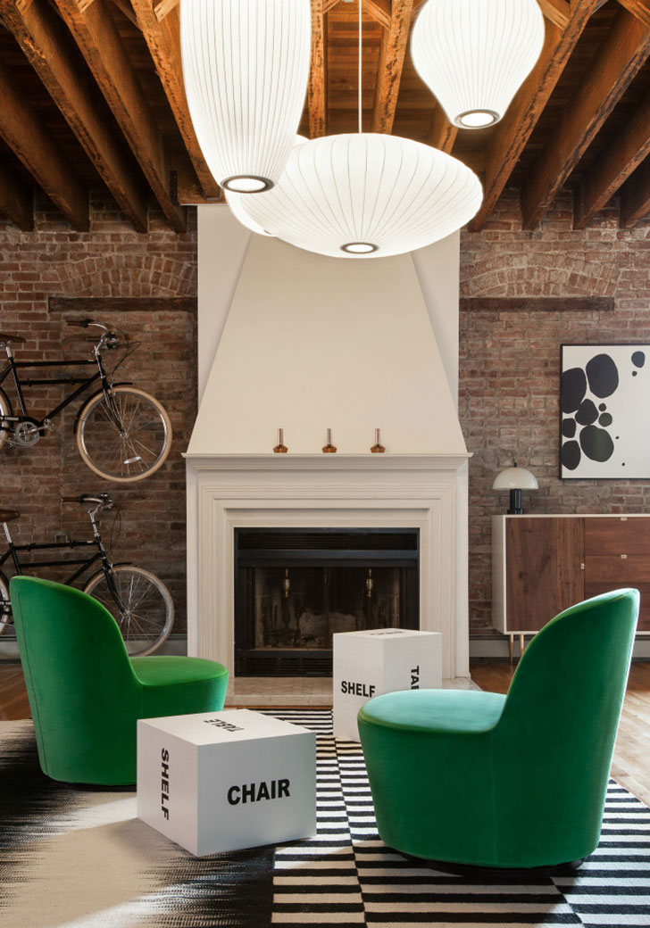 most intriguing and alluring city of North America   New York  The  interiors are a game of colors  raw materials  designer furniture and  objects of art. Inspiring loft in New York   PUFIK  Beautiful Interiors  Online