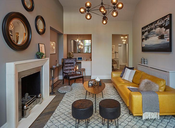 Современные апартаменты с внутренним двориком в Лондоне