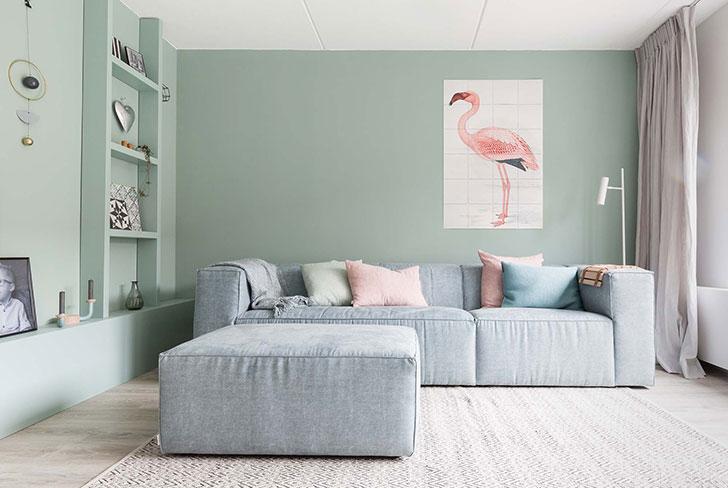Царство пастельных оттенков: милая квартира в Нидерландах
