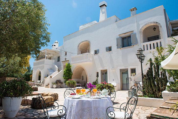 Отель Masseria Salinola, который позволяет ощутить все прелести итальянской глубинки