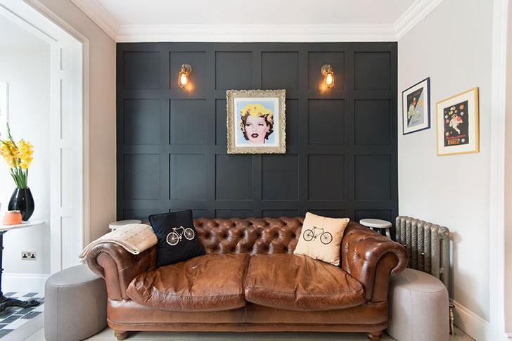 Квартира со светлой столовой и собственным двориком в Лондоне (86 кв. м)