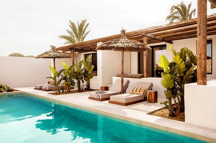 Дизайнерский отель для пляжного отдыха на острове Кос