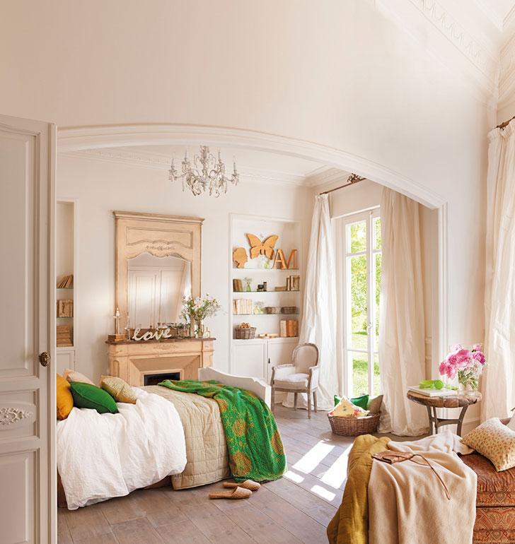 Vintage bedroom: some inspiring examples 〛 ◾ Photos ◾Ideas◾ Design