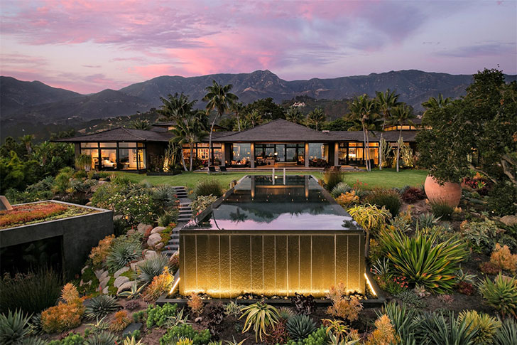 Впечатляющая вилла в балинезийском стиле в Калифорнии за 40 млн дол
