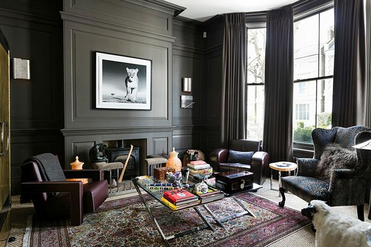 Впечатляющий викторианский дом в Лондоне