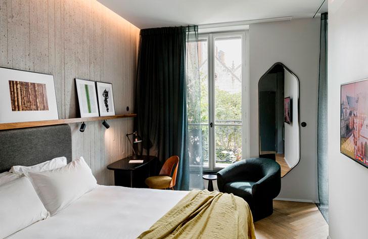 Посмотреть и потрогать: отель с интересной концепцией в Париже