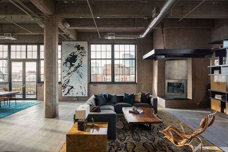 All Specific Loft Elements Are Present In This Apartment Denver There No Hints Of Other Styles Or Trade Offs It S A Real