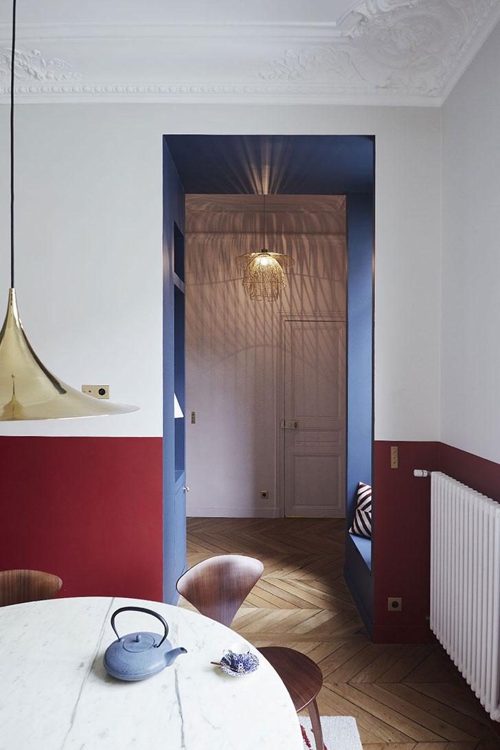 Стильные апартаменты в Париже от GCG Architectes