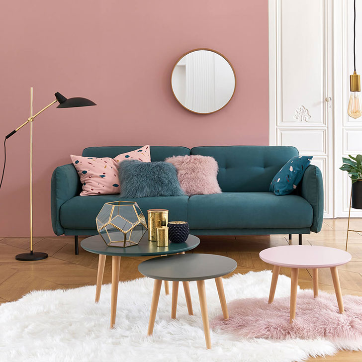 Wonderful interiors in the new collection by French shop La Redoute ...