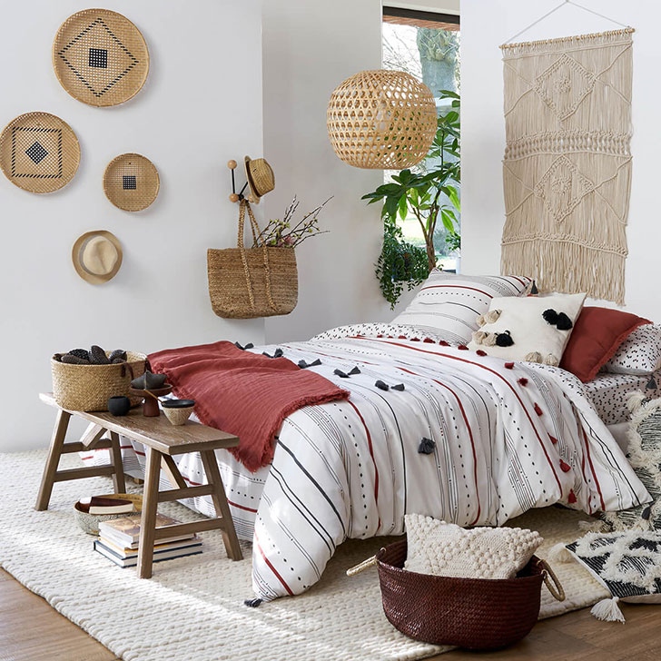 wonderful interiors in the new collection by french shop la redoute pufik beautiful interiors. Black Bedroom Furniture Sets. Home Design Ideas