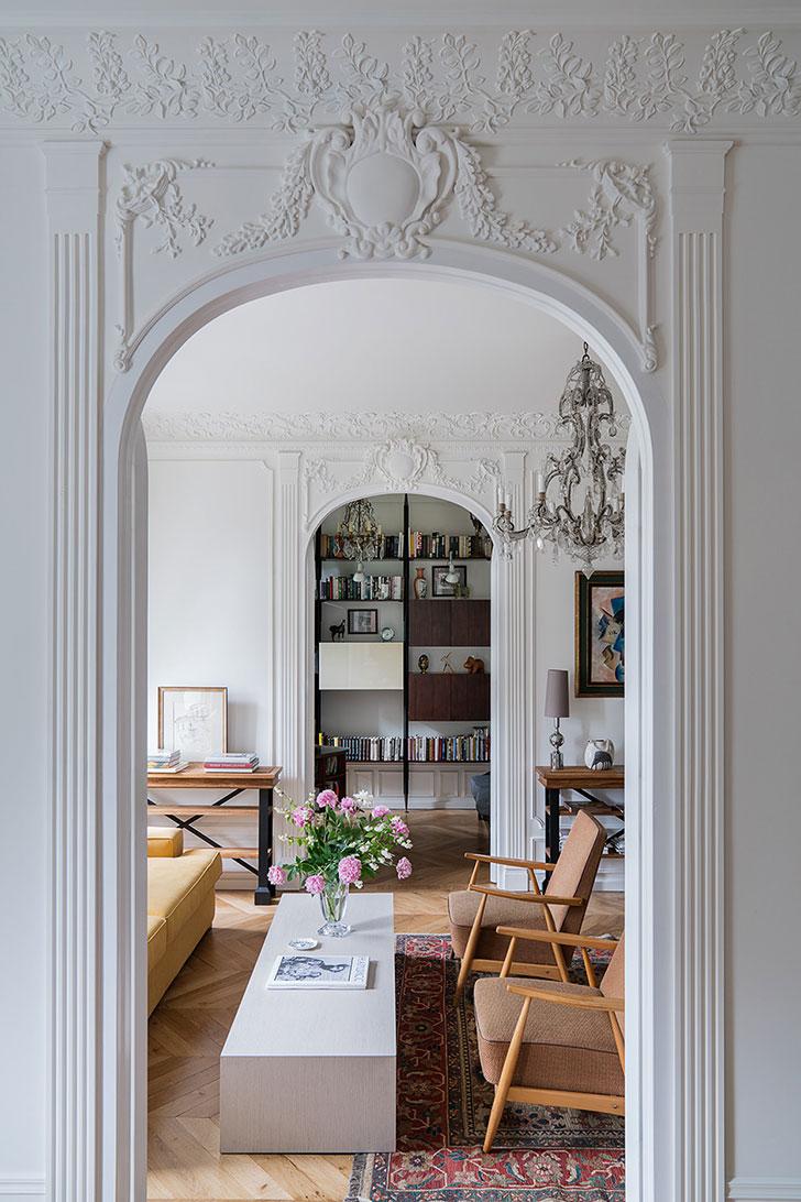 Атмосфера Парижа в московской квартире декоратора