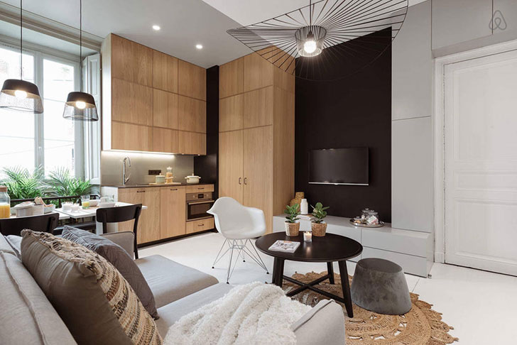Stylish Rental Apartment In Lyon 40 Sqm Foto Idei Dizajn