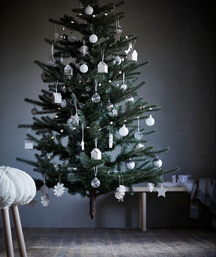 Искусственная елка Икеа - фото
