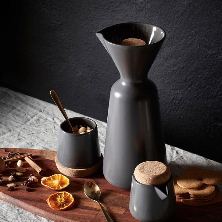 Графин для кофе черного цвета Икеа Винтер - фото