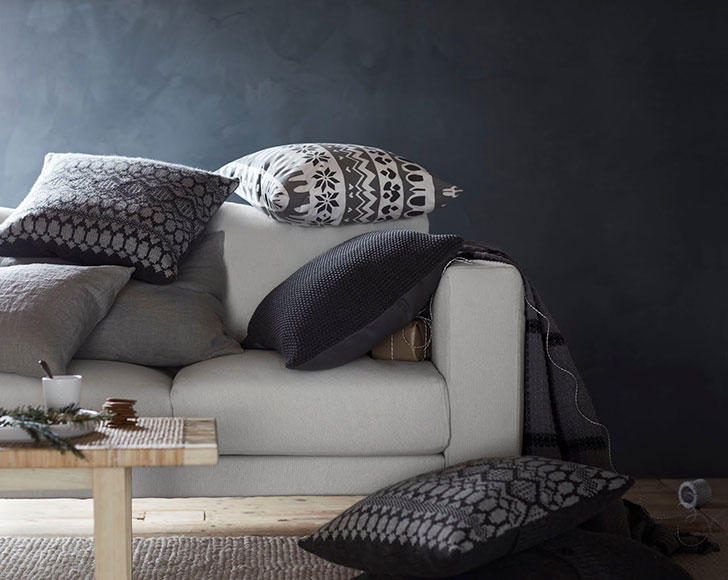 Декоративные подушки IKEA - фото