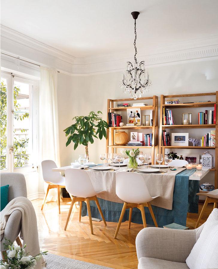 Приятная квартира модели и блогера Moni Moleskine в Мадриде   kvartira modeli moni moleskine v madride pufikhomes 3