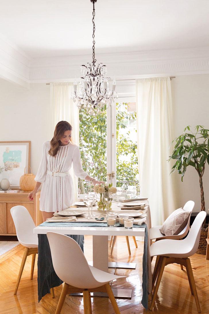 Приятная квартира модели и блогера Moni Moleskine в Мадриде   kvartira modeli moni moleskine v madride pufikhomes 5